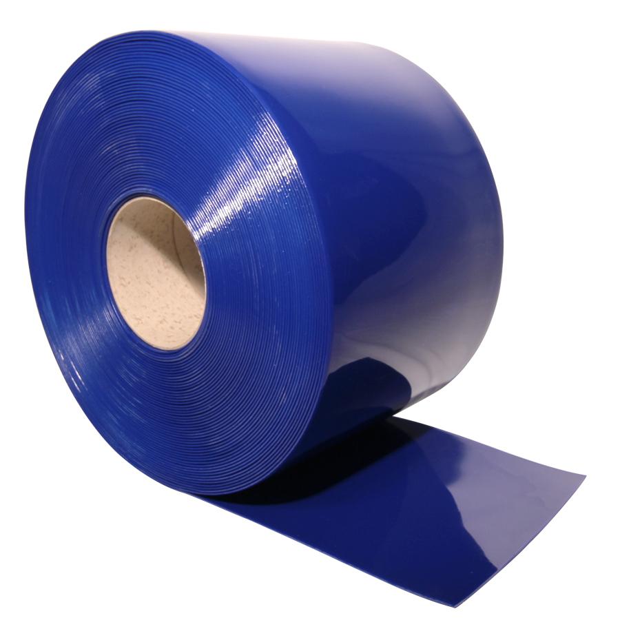 Blue PVC Strip Roll