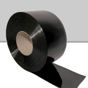 Black PVC rolls from Redwood Strip Curtains Ltd