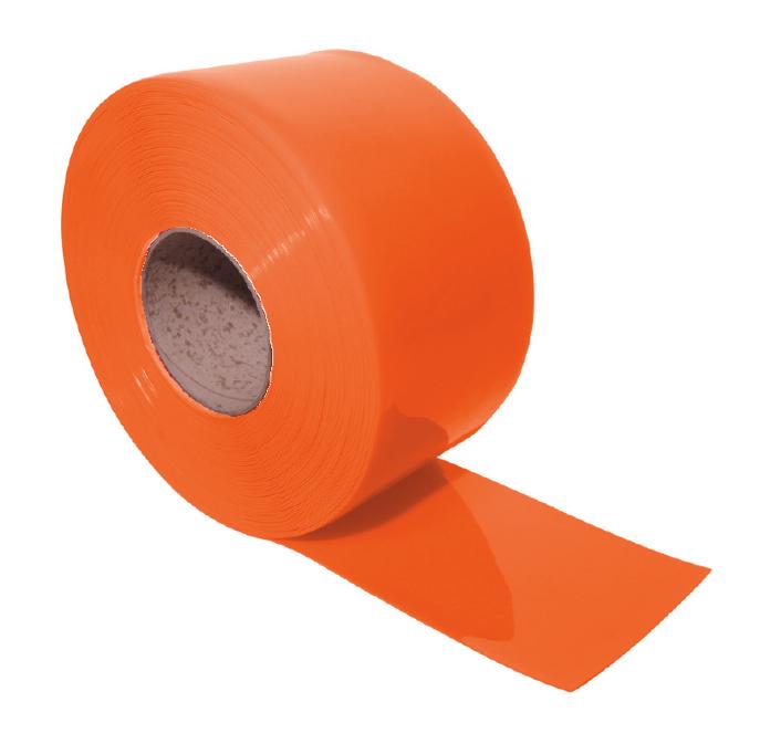 Orange PVC Strip Roll