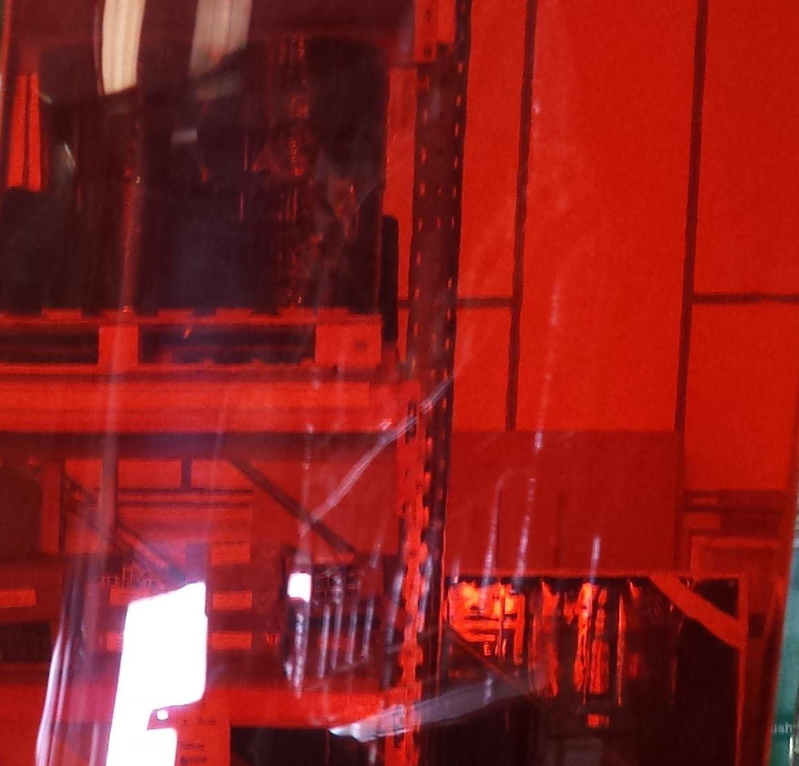 Transparent Red PVC