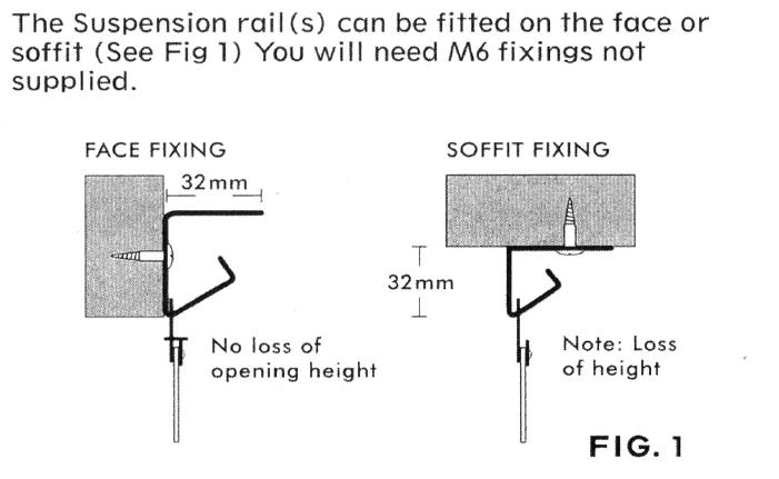 Hook on Rail Diagram