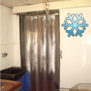 pvc refrigeration curtains