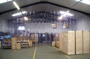 Redwood Strip Curtains