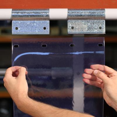 Swivel Hinge Curtain Strips