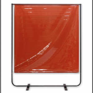 red welding screen