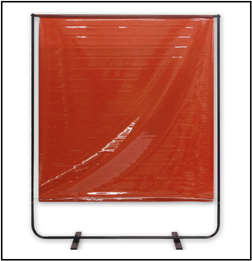 Mobile Welding Screens Anti Uv Redwood Strip Curtains