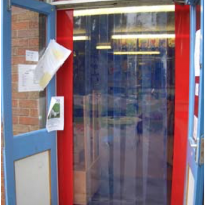 Plastic Door Strips >> Pvc Strip Curtains Door Strip Curtains Get A Quote Today Redwood