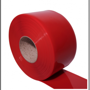 red pvc roll